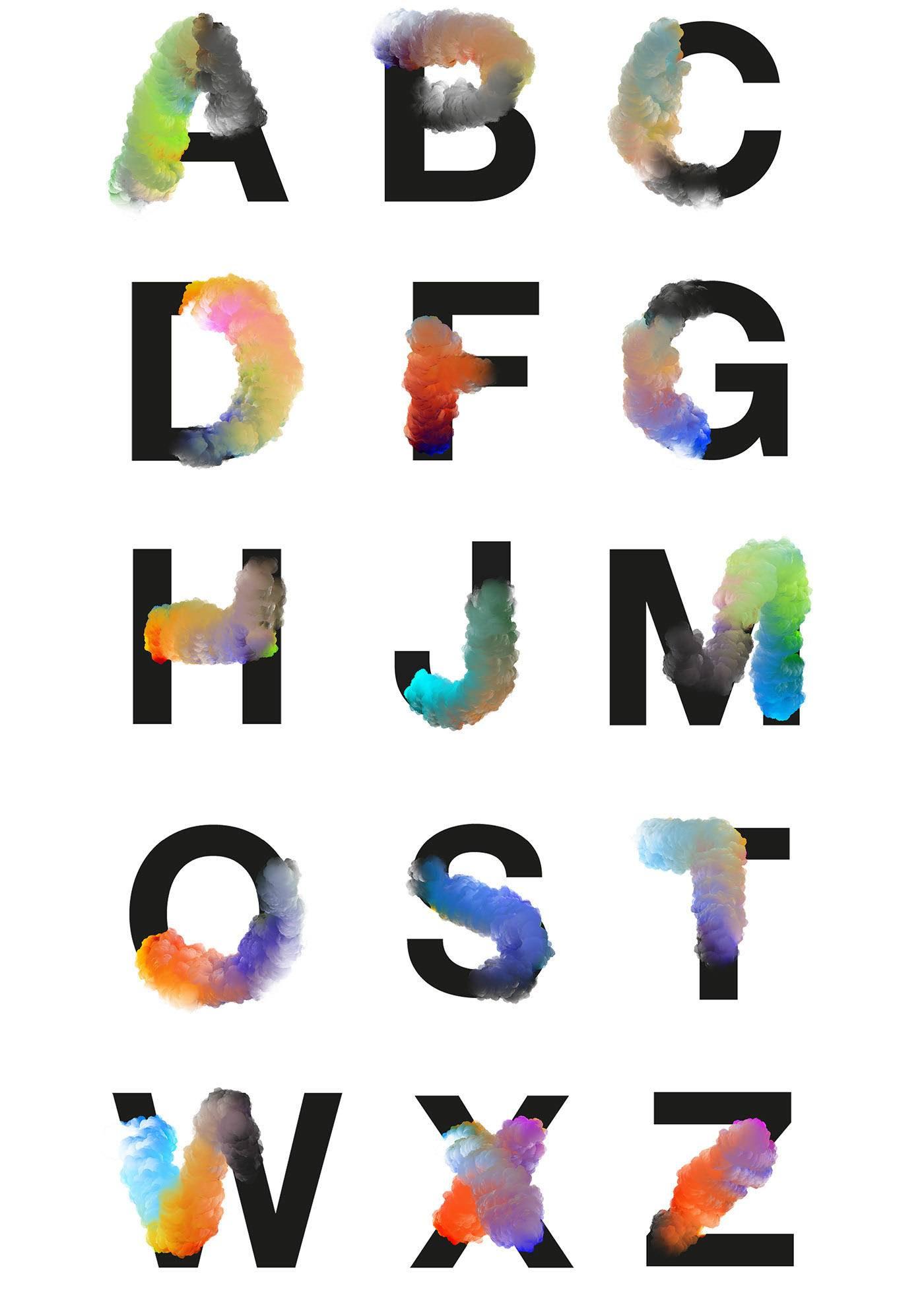 海报设计素材分享 一张酷炫的海报必备这些字体