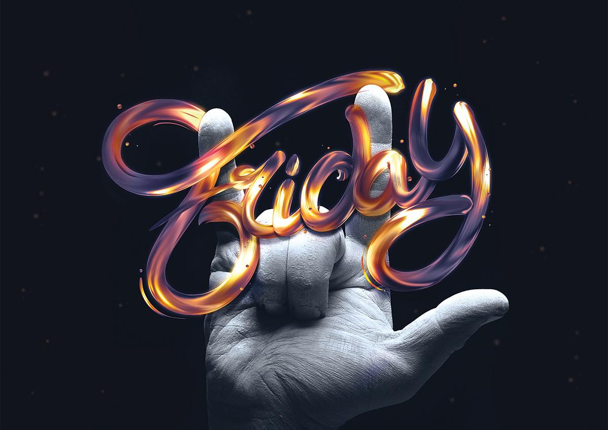 海报设计素材分享 这么酷炫的字体你都见过吗