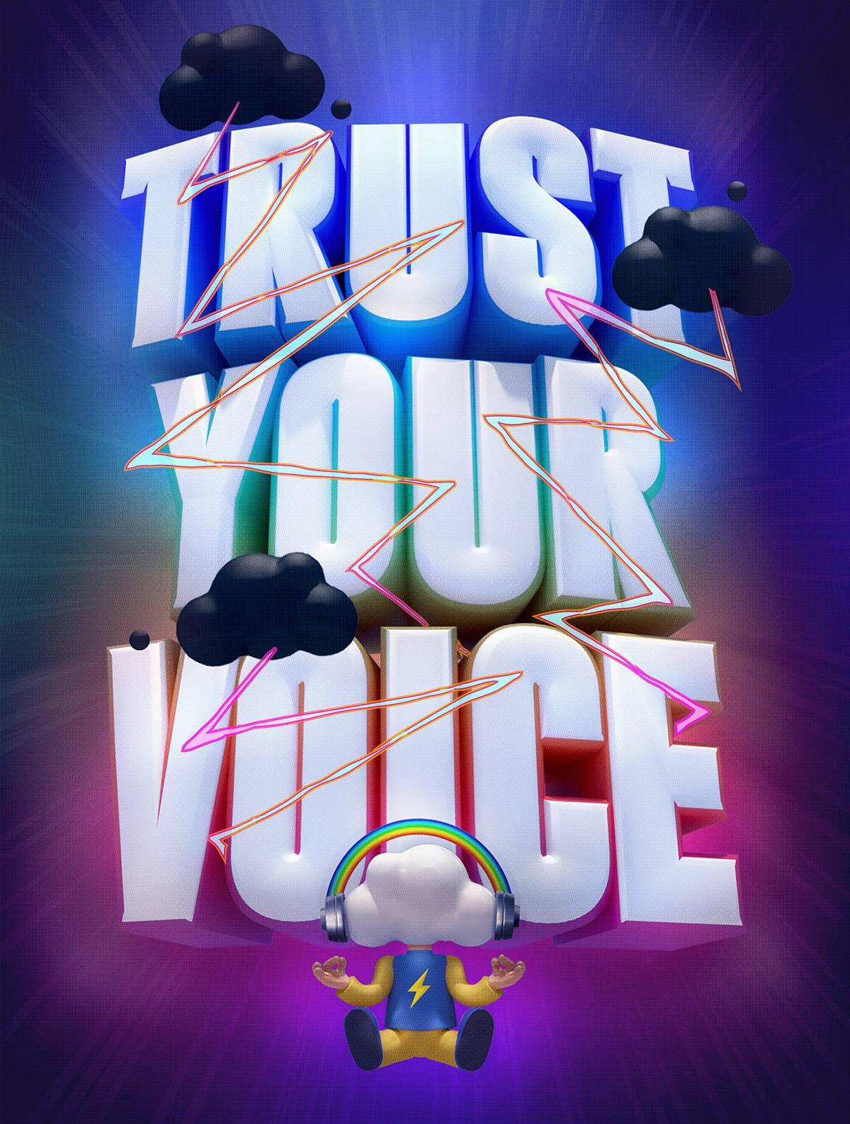 海报设计素材分享 创意十足的字体