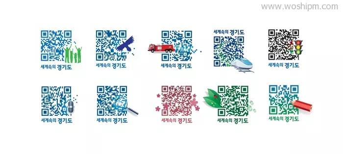 微信二维码设计方法 来看看二维码设计的不同风格