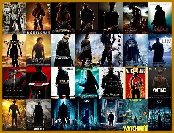盘点电影海报设计套路 让人感觉不明觉厉