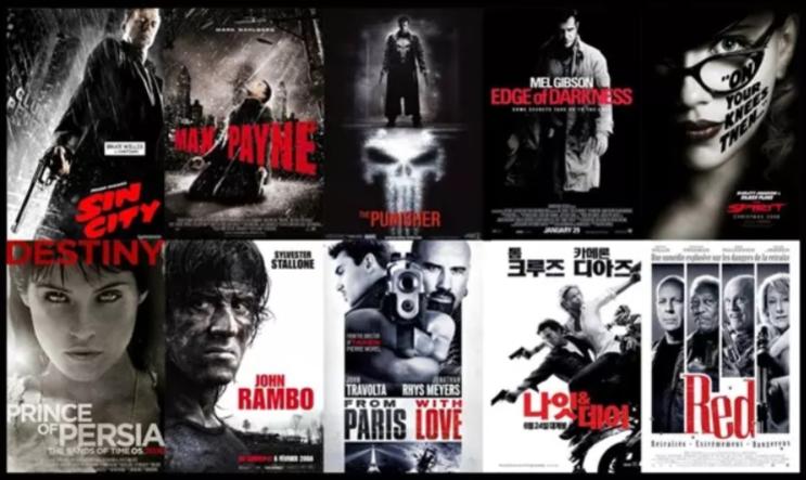 电影海报设计类型分享 海报明示电影内容