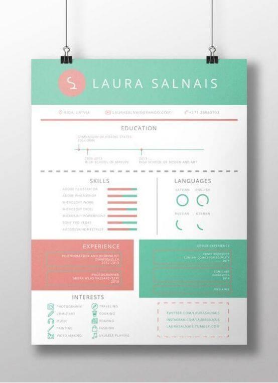 简历设计干货解读 简历里的页眉该怎么设计