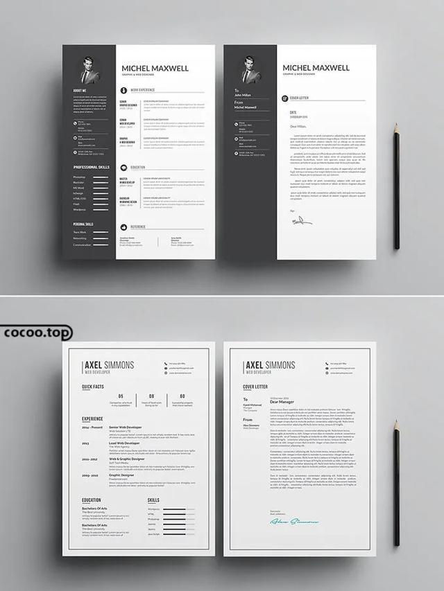 简历设计要点解读 信息图类简历的设计要点