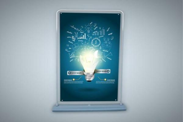 广告展架设计分享 广告展架种类解析