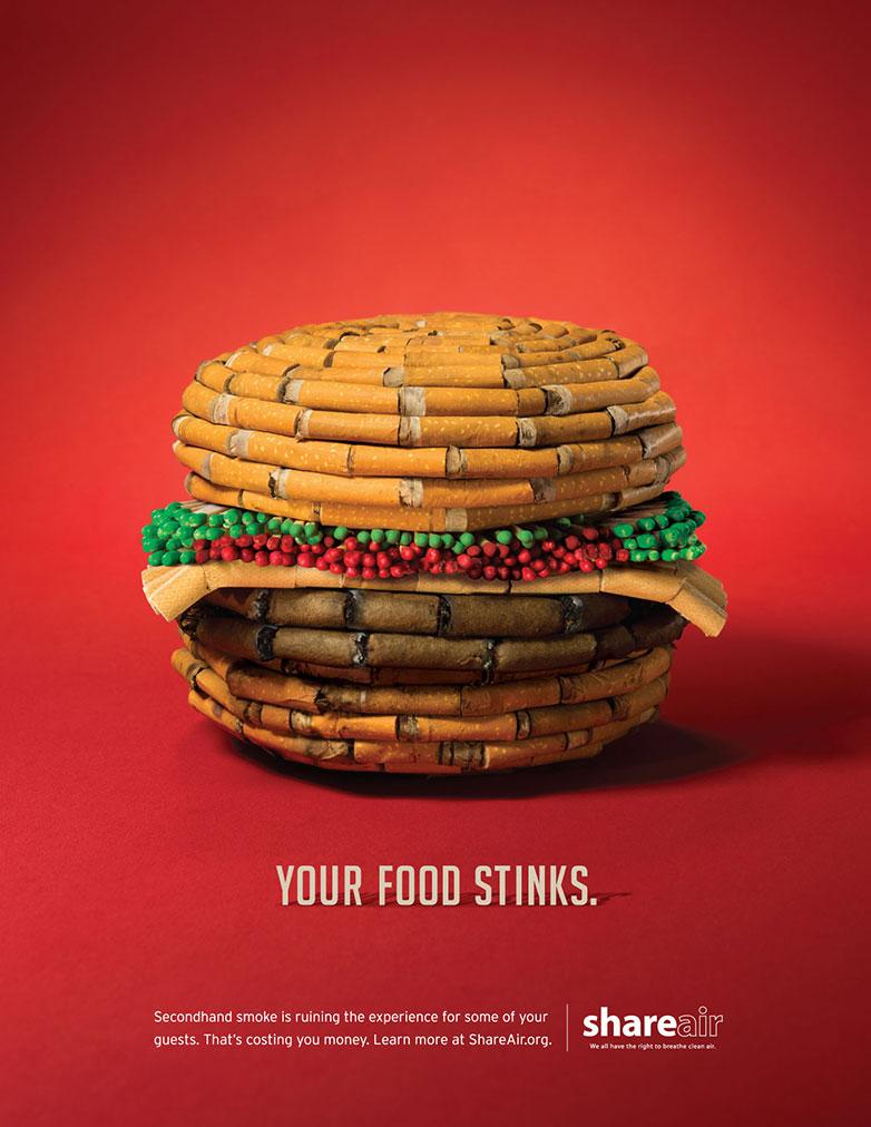 公益海报设计案例欣赏 行动不应只有海报