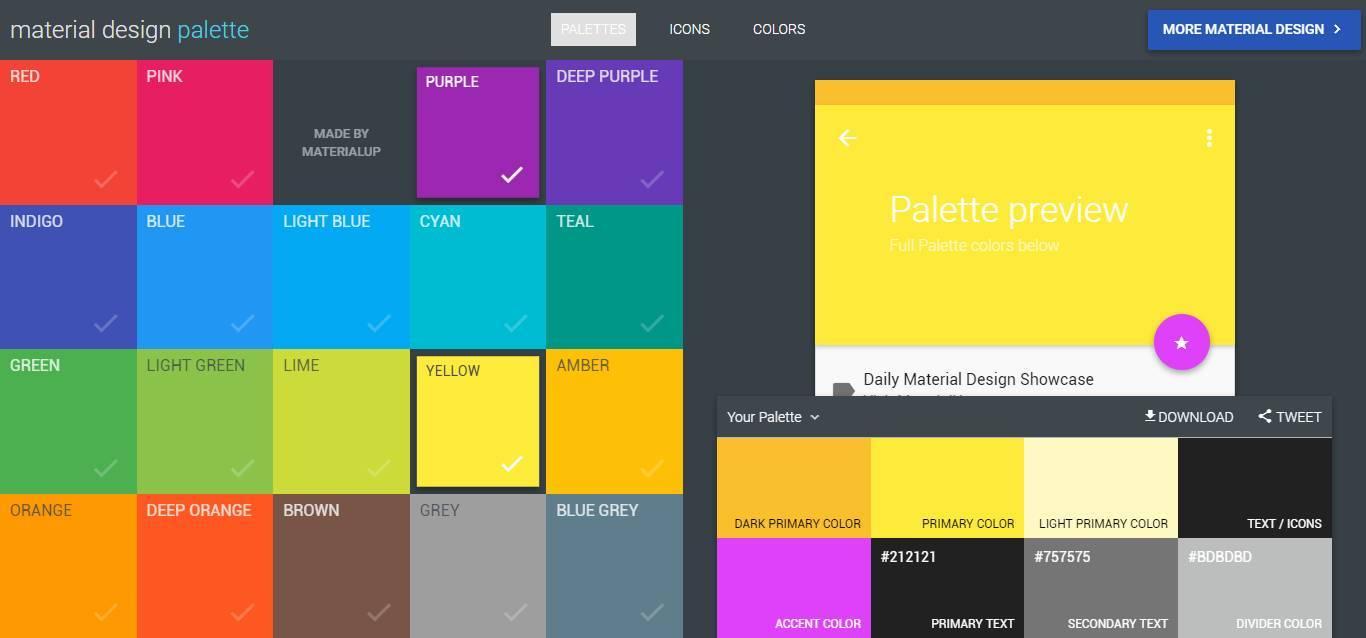 书签设计配色分享 这些书签配色网站值得一看