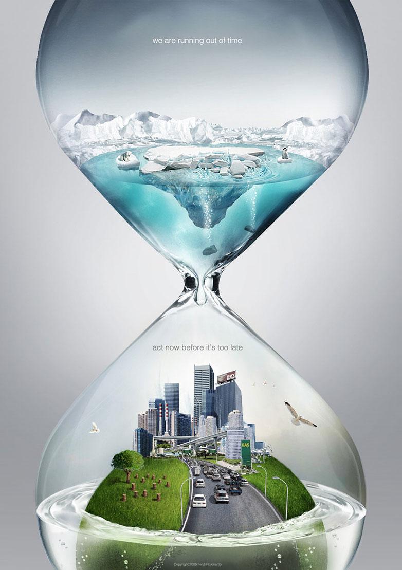公益海报设计图片分享 请大家立即采取行动
