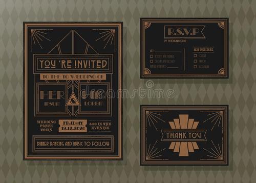 邀请卡设计配色分享 来看看关于邀请卡的配色方法