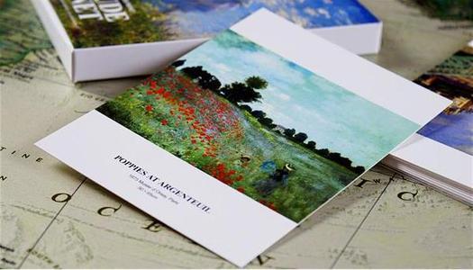创意明信片设计分享 这些值得一看的城市明信片