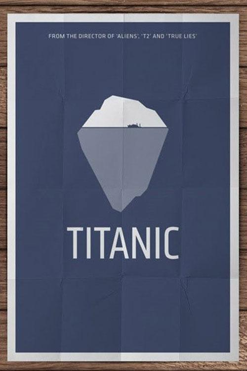 简约电影海报设计作品赏析 高逼格的简约系电影海报
