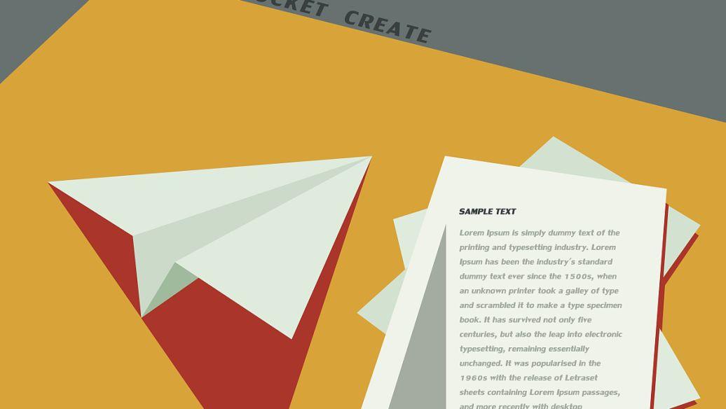 折页设计排版解读 折页应该怎么布局与排版