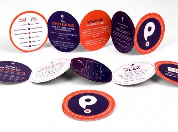 创意折页设计作品欣赏 有哪些创意的折页设计作品