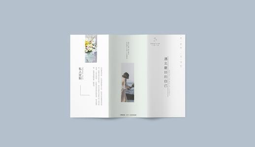 花店折页设计作品欣赏 这些花店折页设计作品别错过