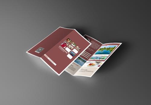 折页设计干货分享 这些折页的特点你必须知道