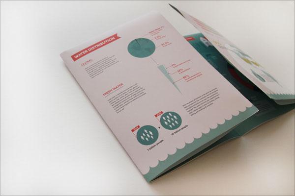 画册折页设计欣赏 让人眼前一亮的画册折页