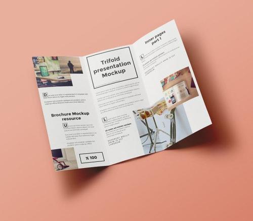 折页设计干货分享 对折页印后工艺常用有哪几种