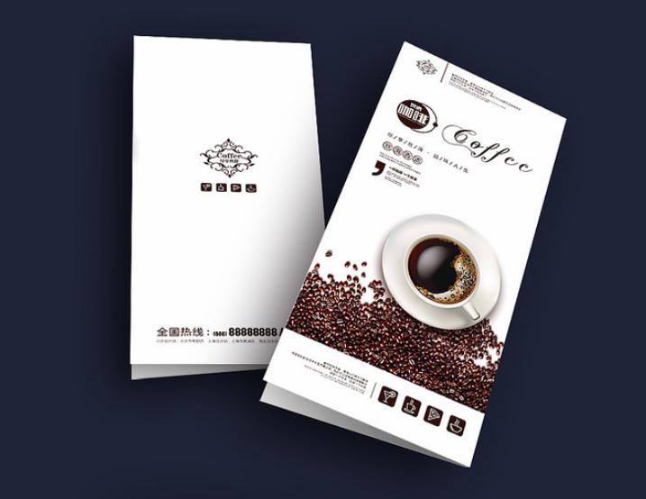 咖啡店折页设计参考  有哪些值得借鉴的咖啡店折页设计