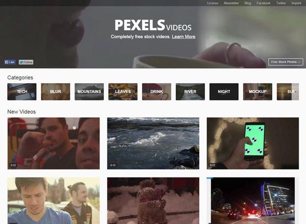 视频设计网站分享 有哪些免费高清视频素材站