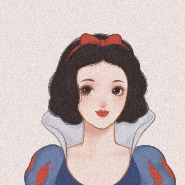 创意头像设计参考 迪士尼公主头像分享