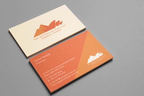 社交名片设计干货分享 名片饰框与底纹的设计表现
