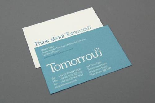 社交名片设计干货分享 名片中色块的设计表现