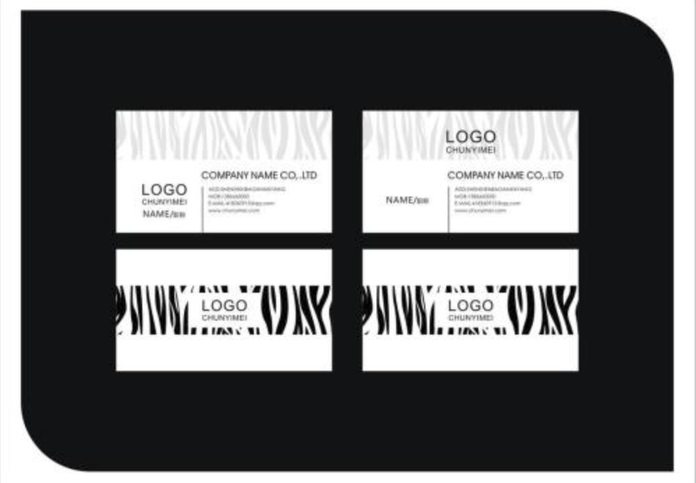 社交名片设计干货分享 名片中的文字设计表现