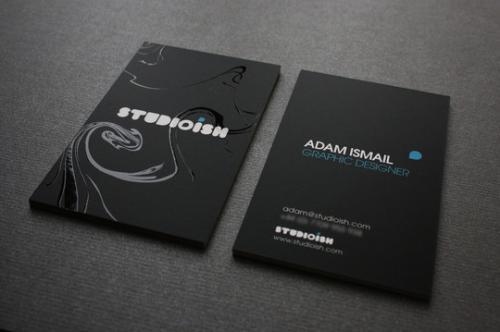 社交名片设计干货分享 设计特殊名片要注意什么