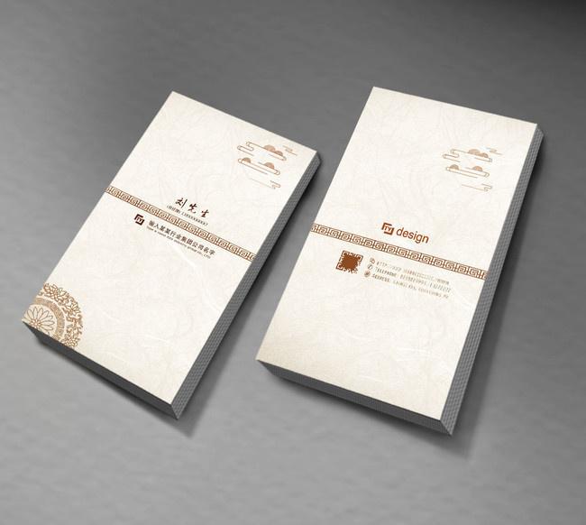 创意社交名片设计参考 这些中国风名片设计作品值得一看