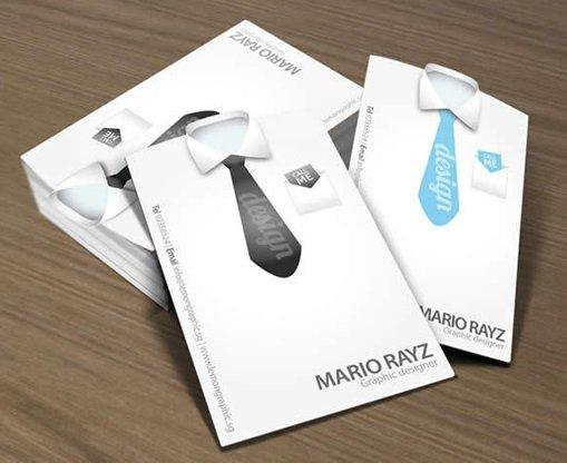 创意社交名片设计参考 有哪些商务名片设计作品