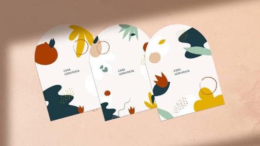 社交名片设计配色分享 你必须知道的名片配色知识