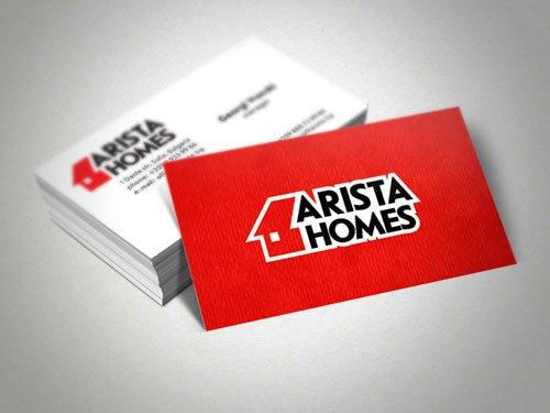 创意社交名片设计参考 不容错过的房地产名片设计作品