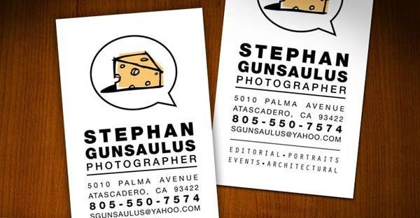 个人社交名片设计参考 来看自由职业者的个人名片作品