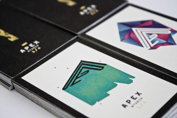 创意社交名片设计参考 这些排版优秀的名片设计作品