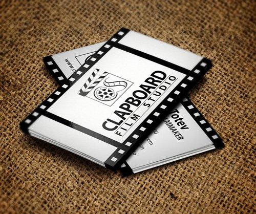 创意社交名片设计参考 黑白风格的社交名片设计有哪些