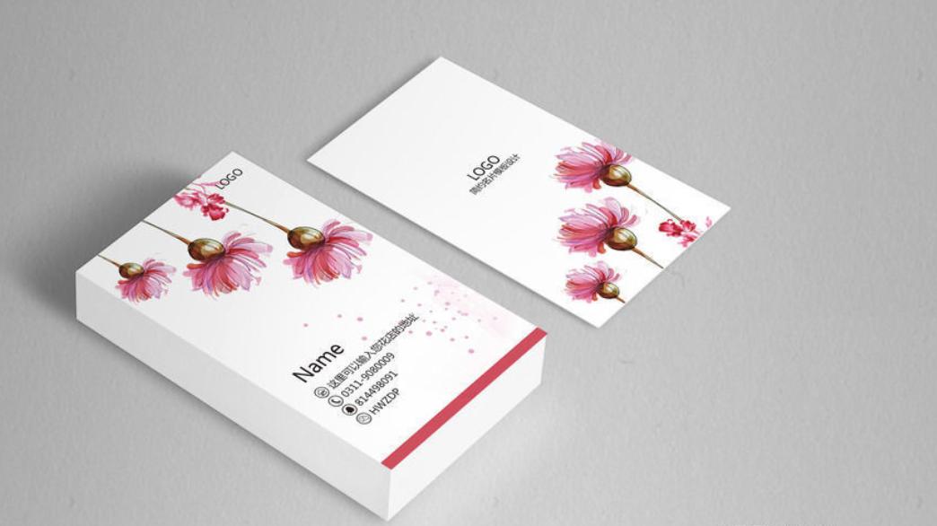创意社交名片设计参考 有哪些好看的花店名片