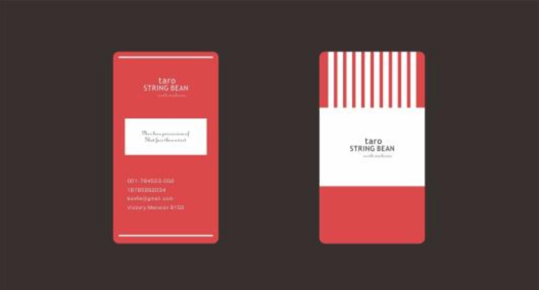 创意社交名片设计参考 有哪些值得参考的文具店名片