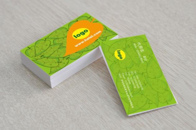 创意社交名片设计参考 环保名片设计作品欣赏