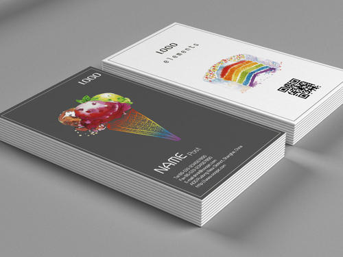 创意社交名片设计参考 有哪些值得一看的饰品店名片