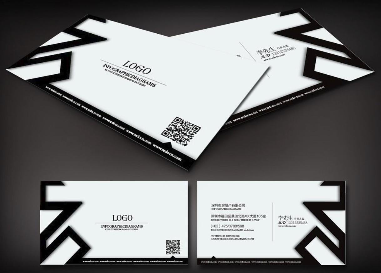 创意社交名片设计参考 有哪些值得一看的装修公司名片