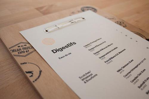 菜单设计字体分享 可以用在菜单的字体参考