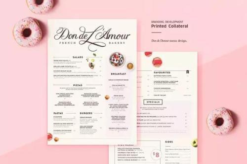 菜单设计技巧分享 菜单图案的设计技巧