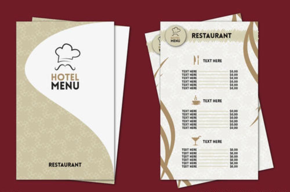创意菜单设计参考 一起来看这些早餐菜单