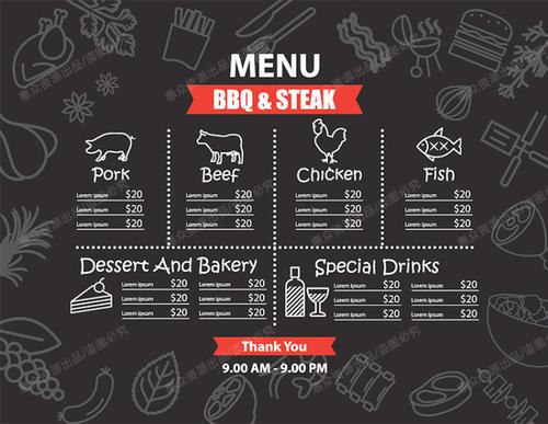 菜单设计干货分享 菜单对餐厅的重要性
