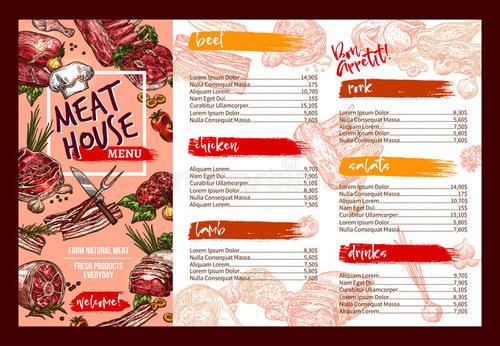 菜单设计干货分享 年夜饭美好寓意的菜单分享