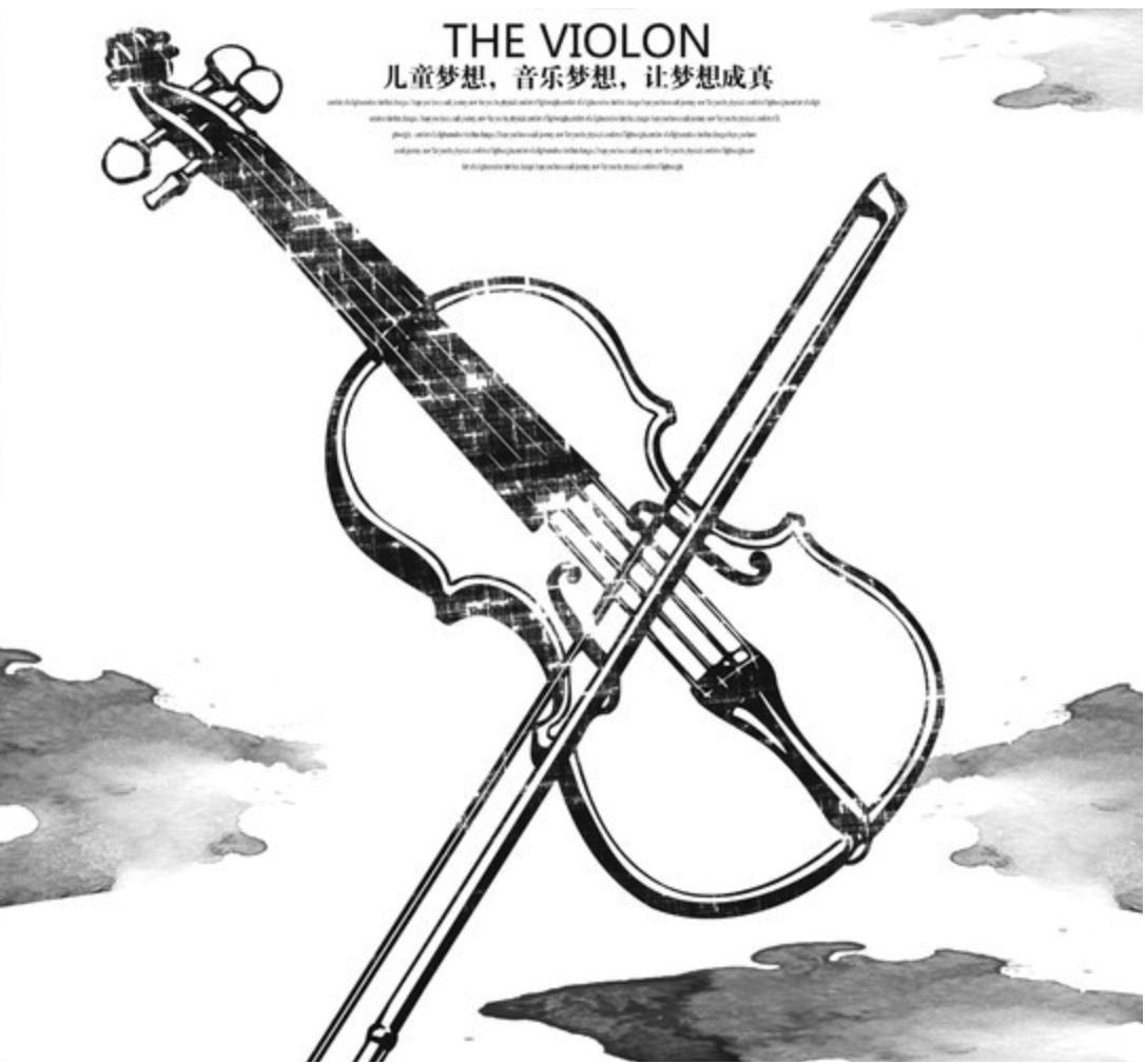 创意宣传单设计参考 有哪些经典的小提琴培训班宣传单