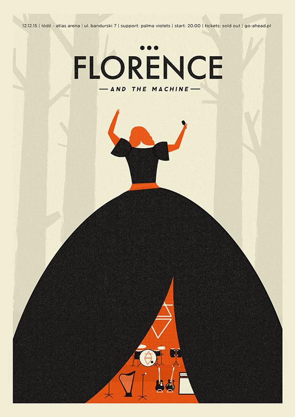 海报设计模板欣赏 不同的风格不同的魅力