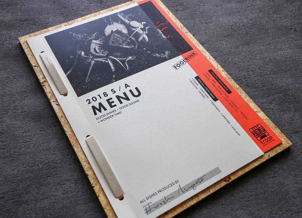 创意菜单设计大赏 风格不一的菜单同样好看