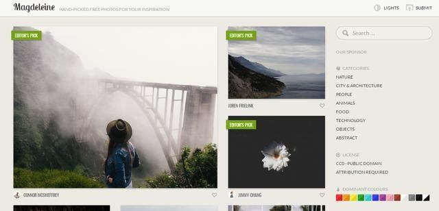 海报设计素材分享 八个优质的图片素材网站