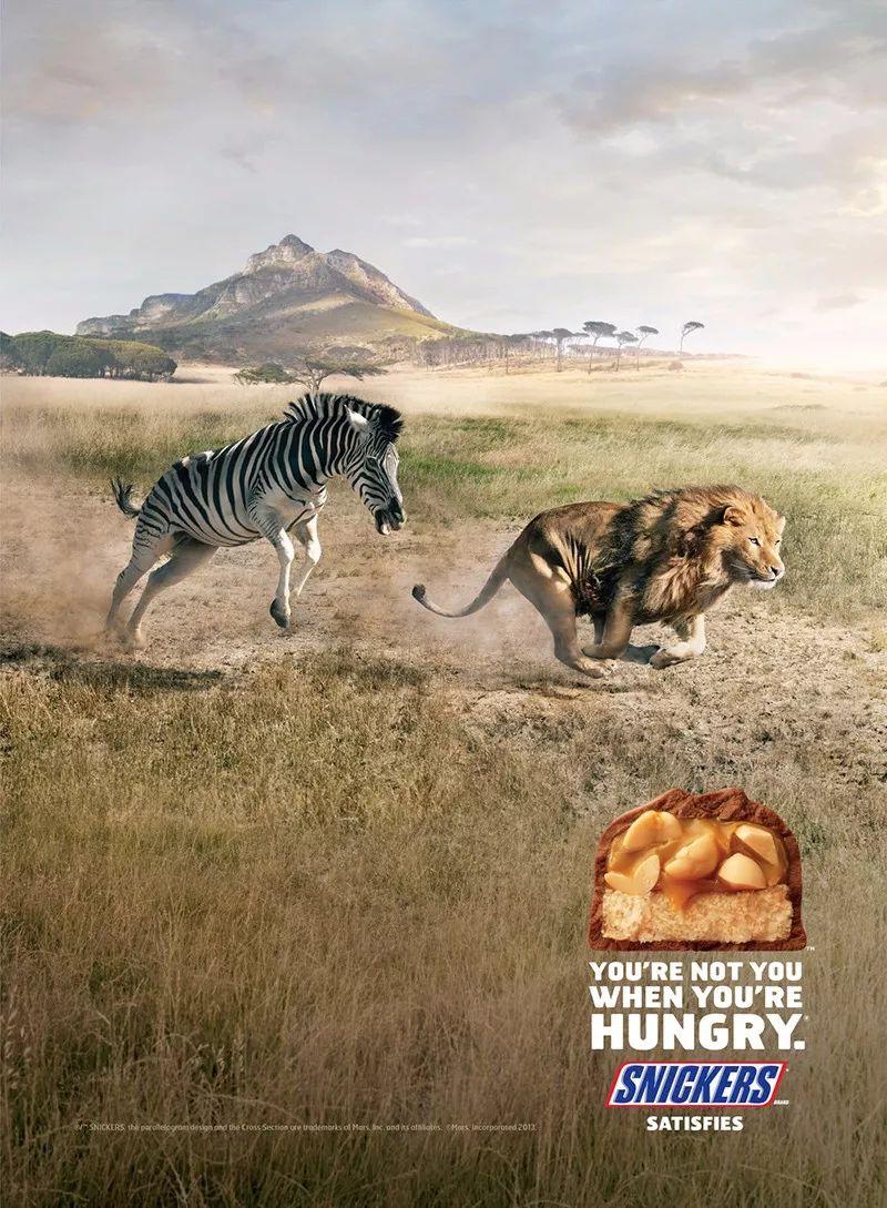 海报设计案例赏析  这些零食海报看上真好吃